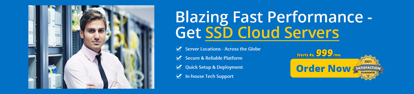 Buy SSD cloud Servers